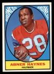 1967 Topps #35   Abner Haynes Front Thumbnail