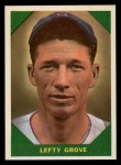 1960 Fleer #60   Lefty Grove Front Thumbnail