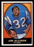 1967 Topps #122   Jim Allison Front Thumbnail