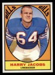 1967 Topps #23   Harry Jacobs Front Thumbnail