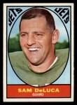 1967 Topps #92  Sam DeLuca  Front Thumbnail