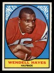 1967 Topps #36   Wendell Hayes Front Thumbnail