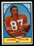 1967 Topps #42   Lionel Taylor Front Thumbnail