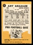 1967 Topps #12  Art Graham  Back Thumbnail