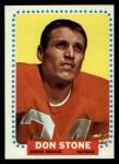 1964 Topps #62  Don Stone  Front Thumbnail