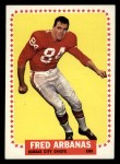 1964 Topps #89   Fred Arbanas Front Thumbnail