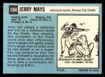 1964 Topps #104  Jerry Mays  Back Thumbnail