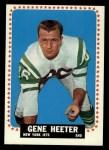 1964 Topps #115   Gene Heeter Front Thumbnail