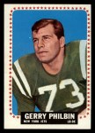 1964 Topps #123   Gerry Philbin Front Thumbnail