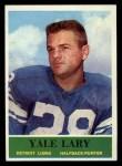 1964 Philadelphia #62   Yale Lary  Front Thumbnail