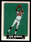 1964 Topps #141   Ken Herock Front Thumbnail