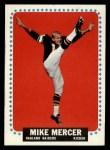 1964 Topps #145   Mike Mercer Front Thumbnail