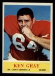 1964 Philadelphia #172   Ken Gray  Front Thumbnail