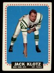 1964 Topps #116  Jack Klotz  Front Thumbnail