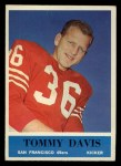 1964 Philadelphia #159   Tommy Davis  Front Thumbnail
