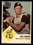 1963 Fleer #15   Dick Howser Front Thumbnail