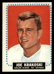 1964 Topps #143  Joe Krakoski  Front Thumbnail