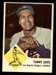 1963 Fleer #40  Tommy Davis  Front Thumbnail