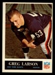 1965 Philadelphia #118  Greg Larson   Front Thumbnail