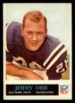 1965 Philadelphia #9  Jimmy Orr     Front Thumbnail