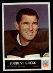 1965 Philadelphia #75   Forrest Gregg  Front Thumbnail