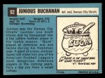 1964 Topps #92  Buck Buchanan  Back Thumbnail