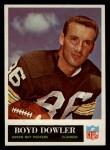 1965 Philadelphia #74  Boyd Dowler   Front Thumbnail