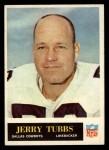 1965 Philadelphia #55  Jerry Tubbs   Front Thumbnail