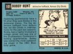 1964 Topps #101  Bobby Hunt  Back Thumbnail