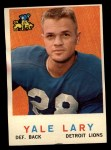 1959 Topps #131  Yale Lary  Front Thumbnail