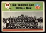 1965 Philadelphia #169   San Francisco 49ers  Front Thumbnail