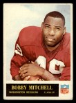 1965 #191  Bobby Mitchell  Front Thumbnail