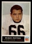 1965 Philadelphia #152   Myron Pottios  Front Thumbnail