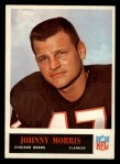 1965 Philadelphia #23   Johnny Morris  Front Thumbnail