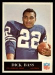1965 Philadelphia #86  Dick Bass    Front Thumbnail