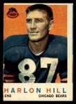 1959 Topps #167   Harlon Hill Front Thumbnail