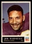1965 Philadelphia #107  Jim Marshall   Front Thumbnail