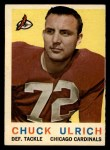 1959 Topps #57   Chuck Ulrich Front Thumbnail