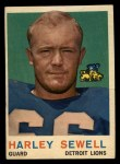 1959 Topps #73   Harley Sewell Front Thumbnail
