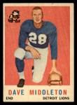1959 Topps #113  Dave Middleton  Front Thumbnail