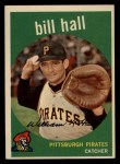 1959 Topps #49   Bill Hall Front Thumbnail
