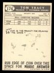 1959 Topps #176   Tom Tracy Back Thumbnail