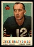 1959 Topps #90  Zeke Bratkowski  Front Thumbnail