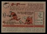 1958 Topps #429   Gus Triandos Back Thumbnail