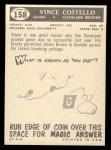 1959 Topps #158  Vince Costello  Back Thumbnail