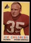 1959 Topps #13   Joe Childress Front Thumbnail