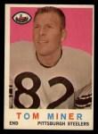 1959 Topps #52  Tom Miner  Front Thumbnail