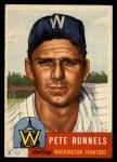 1953 Topps #219   Pete Runnels Front Thumbnail