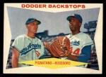 1960 Topps #292  Dodger Backstops  -  Joe Pignatano / John Roseboro Front Thumbnail