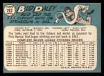 1965 Topps #262  Bud Daley  Back Thumbnail